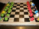 Angry Birds Chess set - looks like made of fimo clay