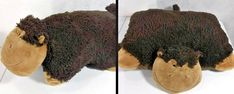 Pillow Pets Pee Wee Monkey Gorilla Brown Toy Nap Pillows 15 in Gift Child Plush #PillowPets #PeeWee #monkey #gorilla #toy #convertible #nap #pillow #naps #child #children #plush #soft #softtoy
