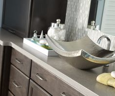 With A Finish As Unique As Its Shape, The Nirvana Sink Offers Aesthetic  Perfection.