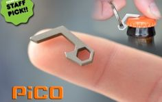Pico: The smallest bottle opener in town