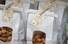 Boys Little Peanut Baby Shower Party Ideas