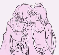 Rwby Anime, Rwby Fanart, Rwby White Rose, Boys Girl Friend, Rwby Weiss, Rwby Red, Rwby Comic, Friend Anime, Yuri Anime