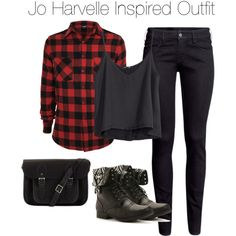 """""""Supernatural - Jo Harvelle Inspired Outfit"""" by staystronng on Polyvore"""