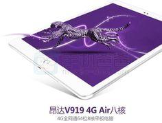 Mola: Onda anuncia una versión 4G de su popular tablet V919 Air