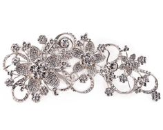 Swarovski Crystal Brooch Hair Clip
