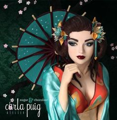 Occidental Geisha - CI Best in Show by   Carla Puig