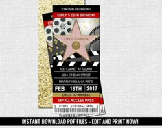 FREE GIFT Cars Editable Birthday Invite by InstantPartyPalace