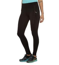 PUMA TP RCVR Long Fitness Tights fuse the benefits of targeted advanced compression with those of strategically placed athletic taping #PUMA #fitness #RCVR