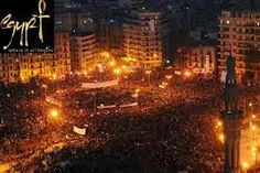 In 2011 the Egyptian Revolution occurred. People protesting against poverty, unemployment and government corruption.