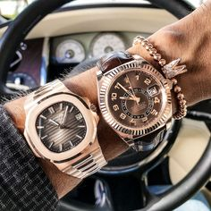 Coming out with the heat Don't sleep on these $49000 $27500 Patek or Rolex?
