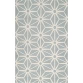 Found it at Wayfair - Fallon Coud Blue Rug. It has the texture of Spaceship Earth!
