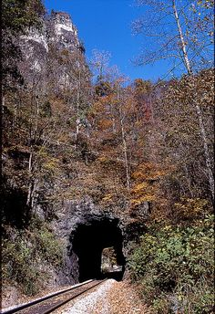 Natural Tunnel State Park http://www.dcr.virginia.gov/state_parks/nat.shtml  *** IVE hiked this mountain and went through the tunnel many times as a kid...dont think you can get on the tracks anymore....wonder why ...lol