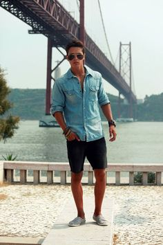 32 Lovable Stylish Casual Summer Outfits Ideas for Mens – Fashion Love Summer Outfits Men, Short Outfits, Summer Clothes For Men, Stylish Men, Men Casual, Mens Casual Summer Fashion, Mens Fashion Shorts, Men Summer Style, Fashion Men
