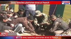 Army launches plantation drive at Poonch