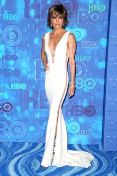 Lisa Rinna at HBO's Post Emmy Awards Reception - All the 2016 Emmy Awards After…