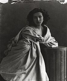 Sarah Bernhardt by Nadar