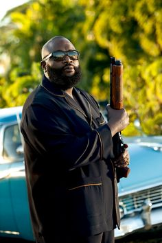 """Rick Ross as Butterball in """"Magic City"""""""