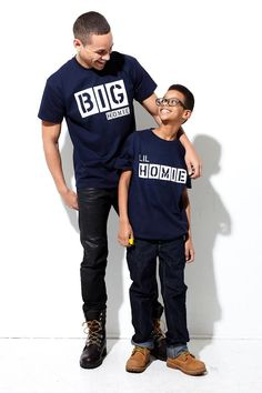 We're Homies! Father & Child T-shirts Every Dad Should Have