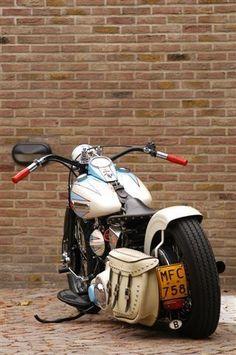 Vintage Harley Davidson Customized Bobber