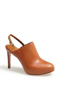 slingback bootie
