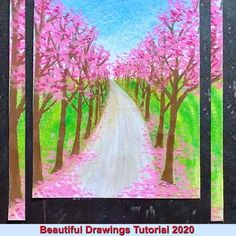 "credit ""PQ class"" art design landspacing to plant Oil Pastel Drawings Easy, Art Drawings Sketches Simple, Oil Pastel Paintings, Oil Pastel Art, Oil Pastels, Small Easy Drawings, Oil Pastel Crayons, Small Canvas Art, Diy Canvas Art"