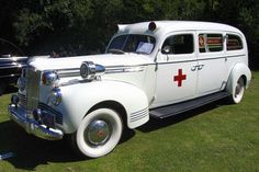 1942 Packard Henney Ambulance                                                                                                                                                                                 More