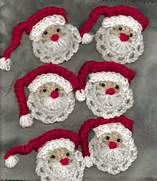 Free Crochet Santa Face Patterns - Bing Images