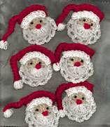 Free Crochet Santa Face Patterns - Bing Images