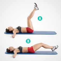 Tone Your Abs on a Mat: 5 Moves Better Than Crunches  http://www.womenshealthmag.com/fitness/crunch-variations