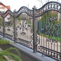 Astounding Tricks: Fence And Gates Horizontal balcony fence raised beds.Green Fence Tips fence landscaping bamboo. Metal Fence Gates, Wrought Iron Fences, Brick Fence, Front Yard Fence, Fenced In Yard, Low Fence, Cedar Fence, Wire Fence, Fence Landscaping