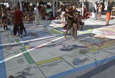 Life size Monopoly Game