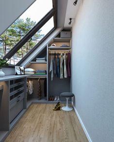 Attic Master Bedroom, Attic Bedroom Designs, Bedroom Layouts, Bedroom Loft, Loft Conversion Windows, Loft Conversion Bedroom, Loft Conversions, Loft Conversion Storage Ideas, Loft Conversion Layout