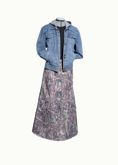 True-timber modest camo-skirt