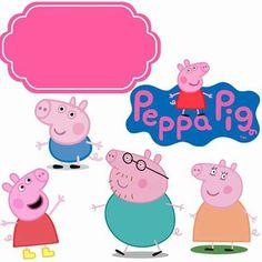 Ariane Carvalho's media content and analytics Bolo Da Peppa Pig, Cumple Peppa Pig, Peppa Pig Stickers, Peppa Pig House, Peppa Big, Peppa Pig Printables, Aniversario Peppa Pig, Pig Cupcakes, Birthday Frames