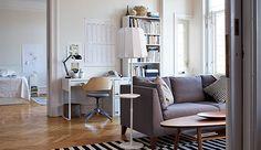 Stockholm Rug - Living Room - Ikea Furniture - Charging Station - Smart Home Ikea Design, Ikea Furniture, Living Room Furniture, Simple Interior, Interior Design, Ikea New, Tapis Design, Rugs In Living Room, Smart Home