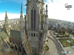 Aerial drone Photo from Argentina by Jetwaves : Calle 12 952-1000, La Plata, Buenos Aires Province, Argentina