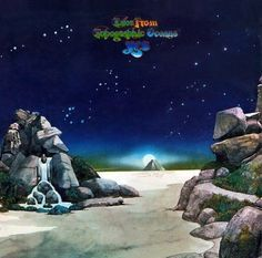 "Yes ""Tales from Topographic Oceans"" Atlantic Records SD 2-908 2-12"" LP Vinyl Record Set, US Pressing (1973) Gatefold Album Cover Art & Design Roger Dean Lp Vinyl, Vinyl Records, Tales From Topographic Oceans, Roger Dean, Atlantic Records, Album Covers, Cover Art, Graphic Design, Sd"
