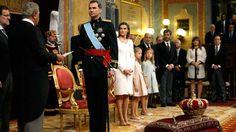Proclamación Felipe VI: El nuevo rey Felipe VI jura la Constitución en su proclamación ante las Cortes - RTVE.es