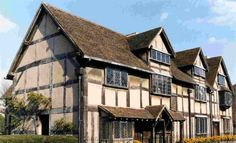 Shakespeare's Birthplace. William Shakespeare grew up here and he played here. He ate meals in the hall and he slept and dreamed in these rooms. Shakespeare also spent the first five years of married life in this house with his new wife, Anne Hathaway.