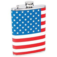 Generic O8O3429O e Stars Wrap Red White White B American Flag g Wrap 8 oz Hip Pocket America Blue Stars Stripes ask Scr Flask Screw Cap HXUS516Apr11190 -- Check out this great product.
