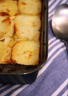 Apple & Potato Gratin