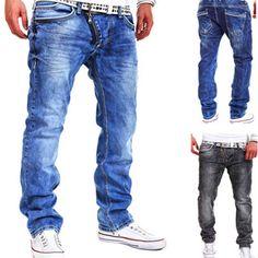>> Click to Buy << BBYES Men's Slim Fit Denim Jeans Men Casual Street Pants Trousers Jeans Light Blue Black Long Pant Jeans for Men Clothing #Affiliate