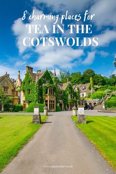 8 Charming Places For Tea In The Cotswolds 8 charming places for tea in The Cotswolds including Castle Combe The post 8 Charming Places For Tea In The Cotswolds appeared first on Urlaub. Places To Travel, Places To See, Travel Destinations, London Tours, London Travel, Instagram Inspiration, Travel Inspiration, Cotswold Villages, Castle Combe