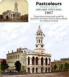 Home - Past Colours Vivid Colors, Colours, Visit Australia, Old Buildings, Town Hall, Queen Victoria, Roads, The Past, Prince