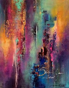 Handmade Oil Painting On Canvas Abstract Painting Modern Art Paintings Easy Modern Artwork For Sale Constable Paintings Ganesh Oil Painting Abstract Rose Painting Oil Painting Abstract, Abstract Canvas, Canvas Art, Painting Art, Colorful Paintings Abstract, Painting Tips, Modern Art Paintings, Modern Artwork, Indian Paintings