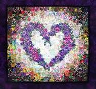 colorwash quilt - Heart