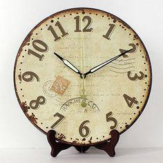 Home Decor Meijswxj 6 Inches Table Clock Antique Wrought Iron Creative Bird Personalized Table Clock Home Desktop Decoration Clock