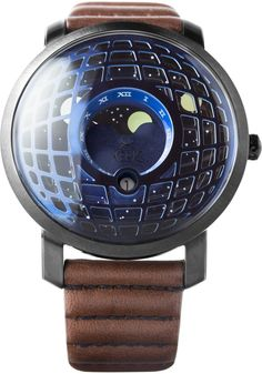 Xeric Trappist-1 Moonphase Blue IP is now available at Watches.com. Free Worldwide Shipping* and Easy Returns. Shop Now