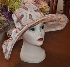 9e47623eee6 Vintage 1960s Flirtette Creations NY Hat