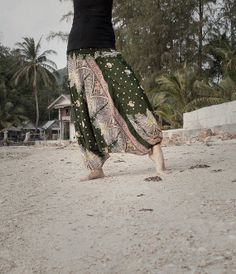 Harem Pants / Baggy Pants / Aladdin Pants / Yoga by AsianCraftShop, $20.00